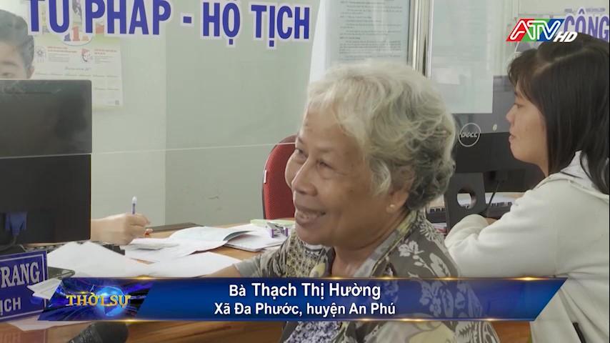 Xã Đa Phước thực hiện có hiệu quả việc nhận và trả kết quả bằng dịch vụ bưu chính công ích - Nguồn : ATV