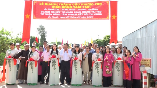 An Phú khánh thành cầu Phước Thọ xã Đa Phước trị giá 1,5 tỷ đồng - Nguồn : ATV