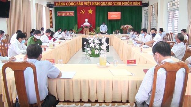 An Phú tổ chức Hội nghị Ban Chấp hành lần thứ 20 nhiệm kỳ 2015-2020 - Nguồn : ATV