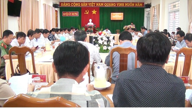 An Phú thông qua văn kiện trình Đại hội Đảng bộ huyện lần thứ VII, nhiệm kỳ 2020-2025 - Nguồn : ATV