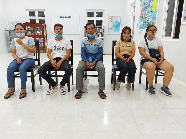 An Phú: bắt giữ 11 đối tượng nhập cảnh trái phép vào Việt Nam - Nguồn : ATV