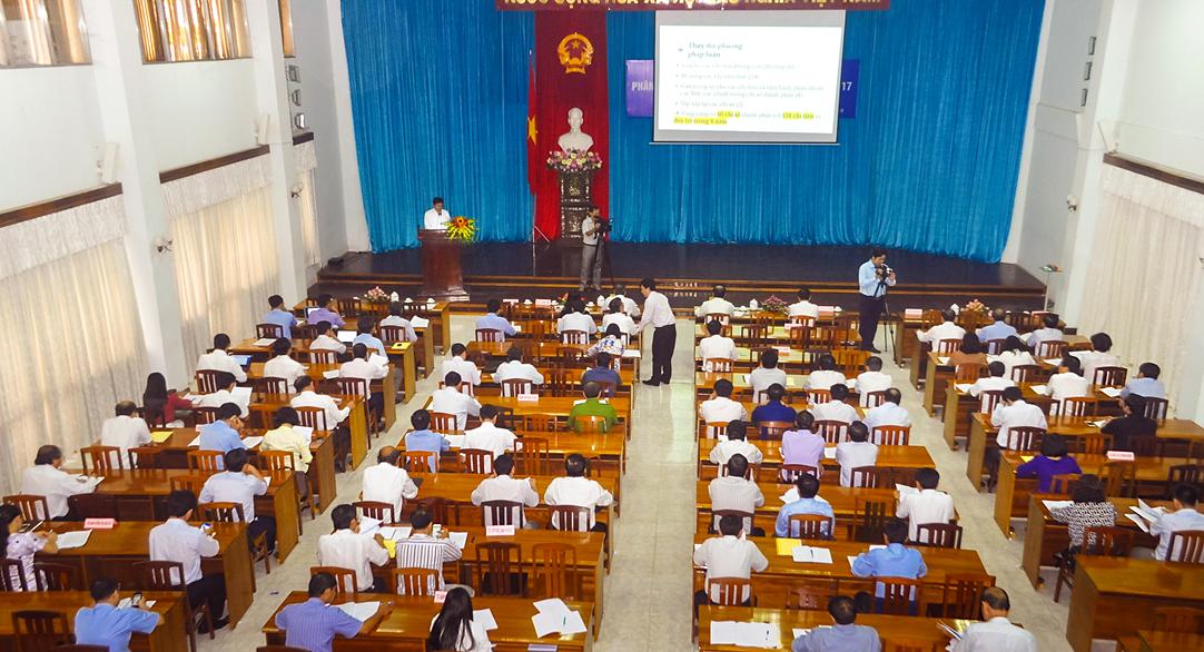 Image result for hội nghị Phân tích, đánh giá chỉ số PCI năm 2017 và nhiệm vụ trọng tâm năm 2018 tại An Giang