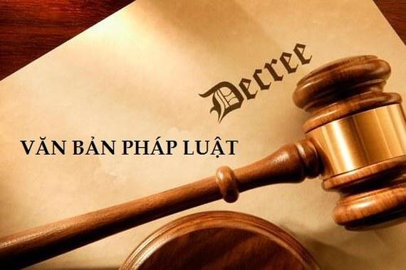 Văn bản pháp luật
