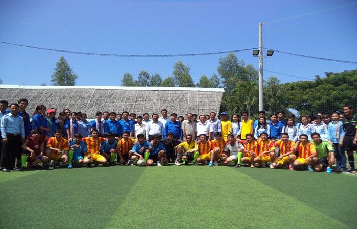 Thanh niên huyện An Phú với Thanh niên huyện Angkor Borey tỉnh Tà Keo - Vương Quốc Campuchia